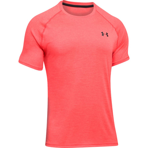 Under Armour Tech SS T-shirt - Marathon Red - Musclehouse.dk