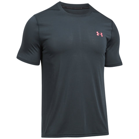 Under Armour Threadborne Fitted T-shirt - Anthracite - Musclehouse.dk