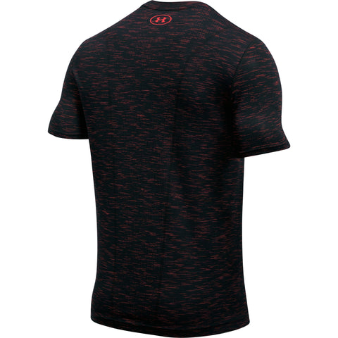 Under Armour Threadborne Seamless SS - Marathon Red