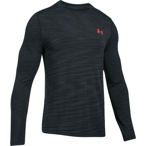 Under Armour Threadborne Seamless LS - Antracite