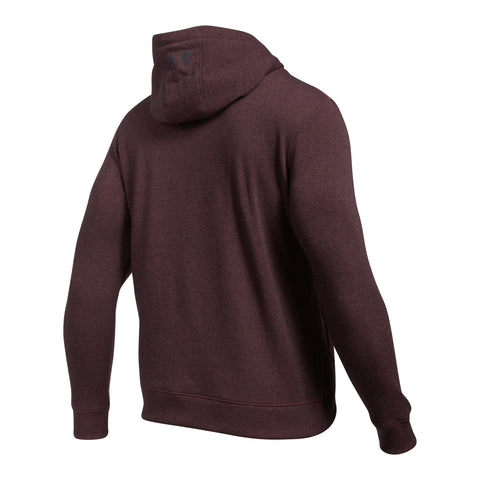 Under Armour Threadborne 1/2 zip hoodie - Marathon Red