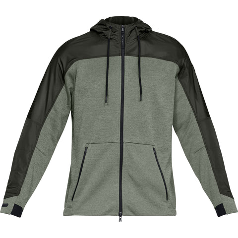 Under Armour Coldgear Swacket - Moss Green