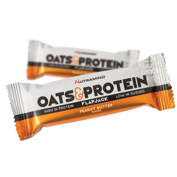 Nutramino Oats & Protein Flapjack - Peanut Butter (50g)