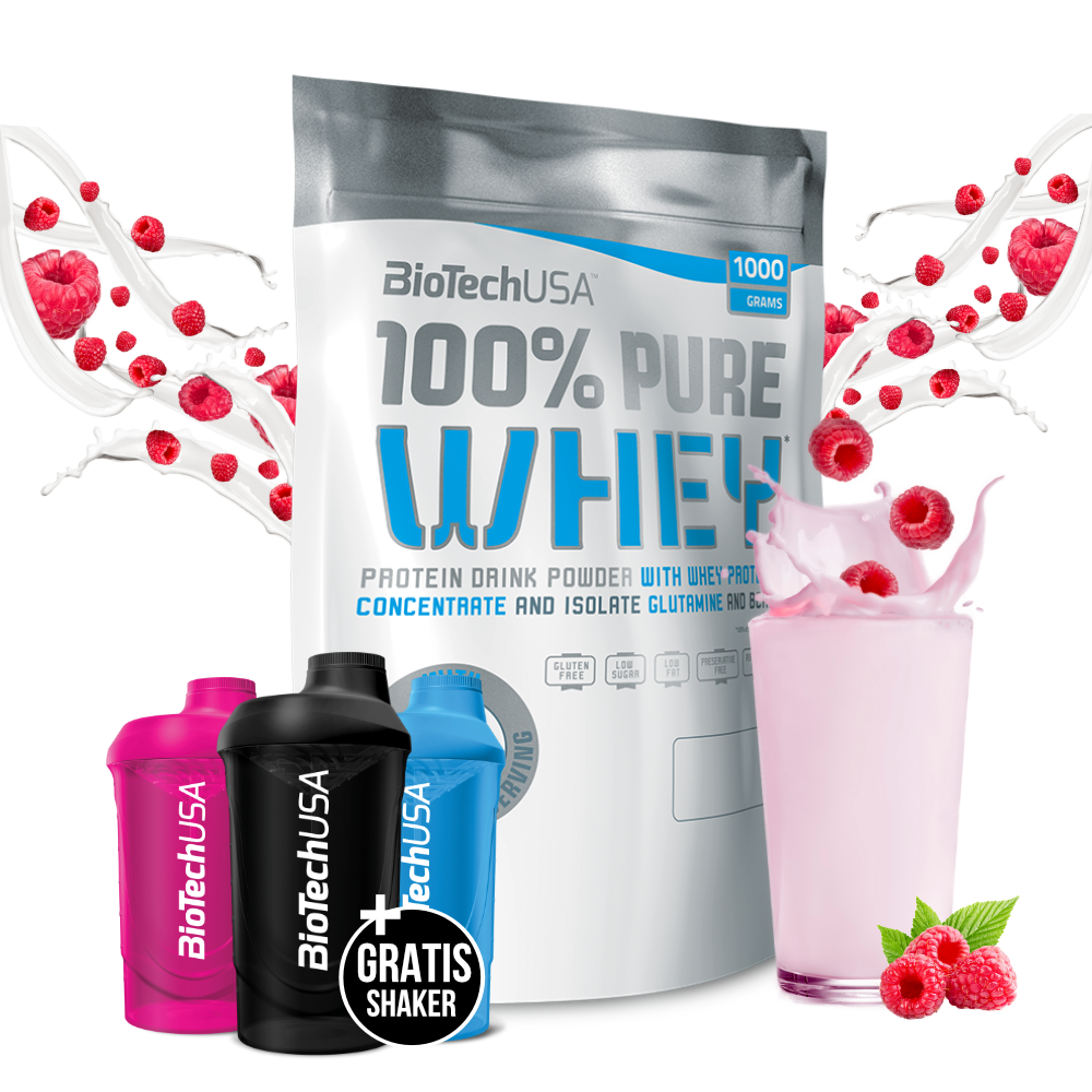 BioTechUSA 100% Pure Whey (1 kg) – Muscle House