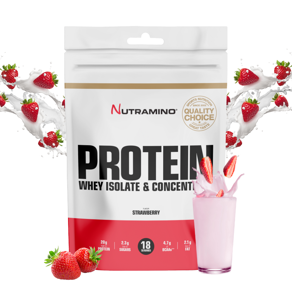 Nutramino Proteinpulver – Strawberry Dream (500 gram)