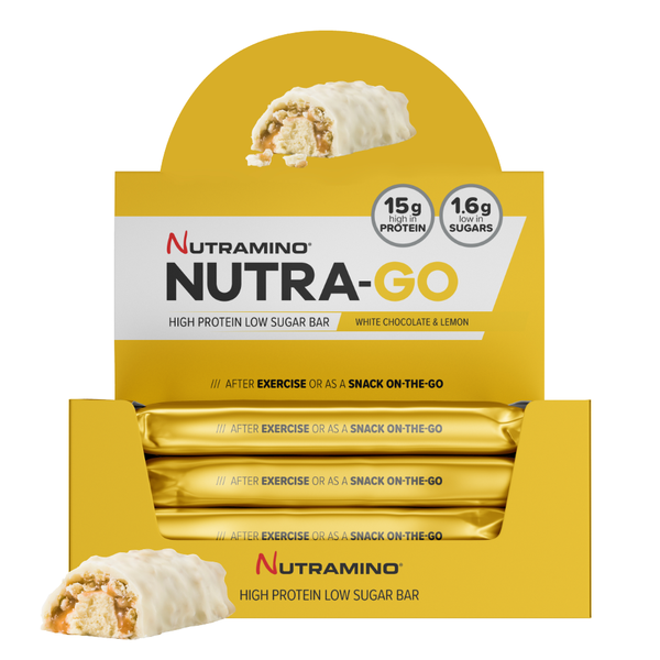 Nutramino Proteinbar White Chocolate Lemon (15x49g)