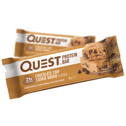 Quest Protein Bar Chocolate Chip Cookie Dough (12x60g)
