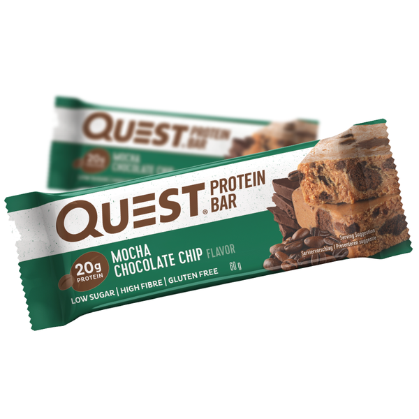 Quest Protein Bar Mocha Chocolate Chip (60g)
