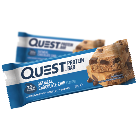 Quest Protein Bar Chocolate Chip Oatmeal (12x60g)