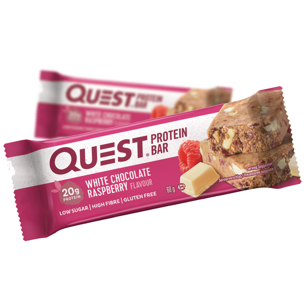 Quest Protein Bar White Chocolate Raspberry (60g)