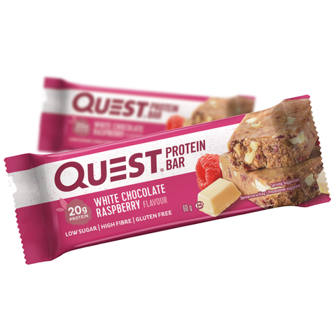 Quest Protein Bar White Chocolate Raspberry (12x60g)