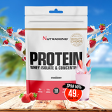 Nutramino Proteinpulver - Strawberry Dream (500 gram)