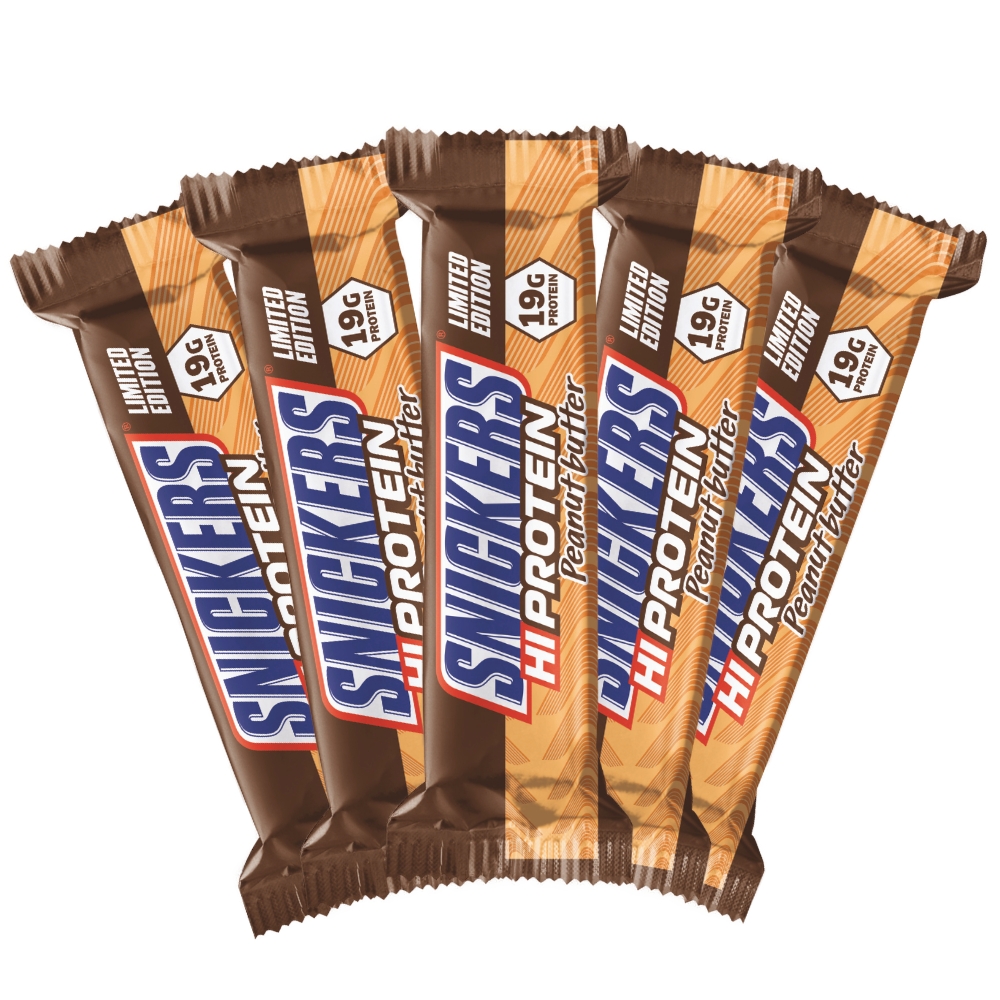 Køb Snickers Peanut Butter Protein Bar (10x57g) – MuscleHouse.dk