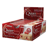 Quest Protein Bar Strawberry Cheesecake (12x60g) - Musclehouse.dk