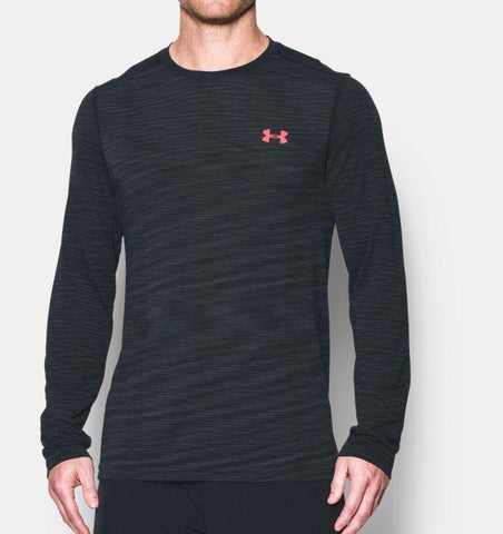 Under Armour Threadborne Seamless LS - Antracite - Musclehouse.dk