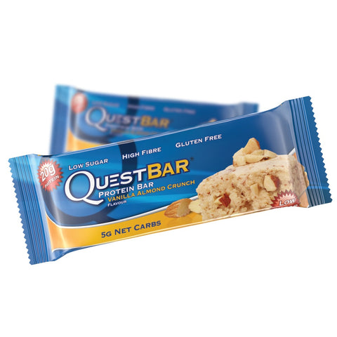 Quest Protein Bar Vanilla Almond Crunch (60g) - Musclehouse.dk