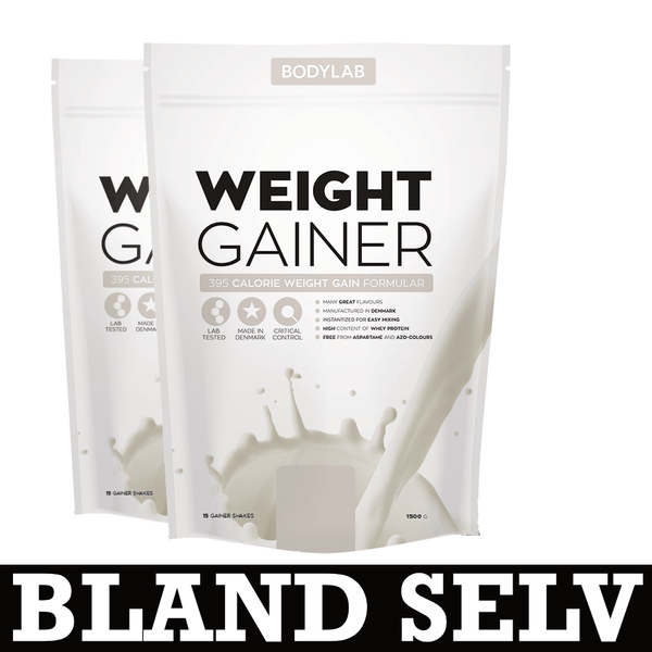 Bodylab Weight Gainer (2x1,5 kg) - Musclehouse.dk