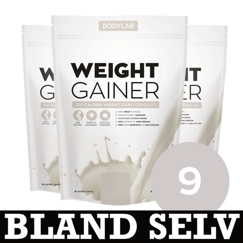 Bodylab Weight Gainer (9x1,5 kg) - Musclehouse.dk