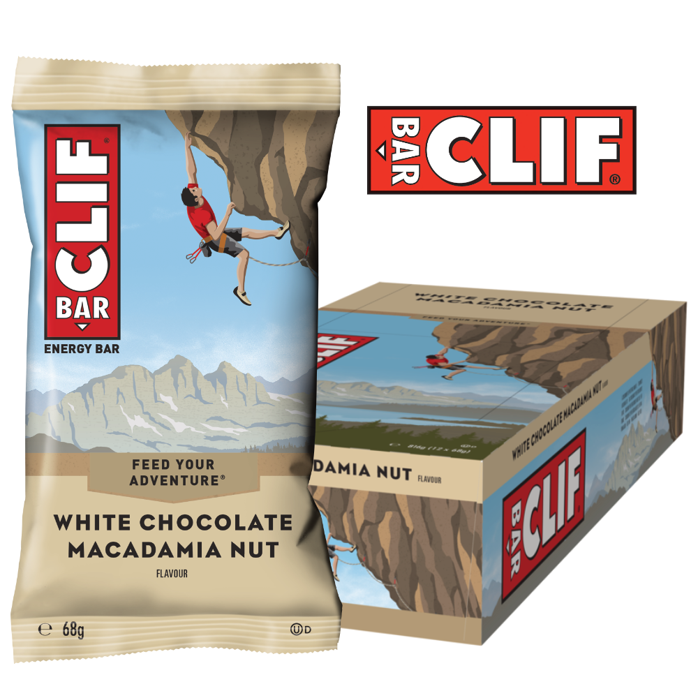 Clif Bar – White Chocolate Macadamia Nut (12x68g)