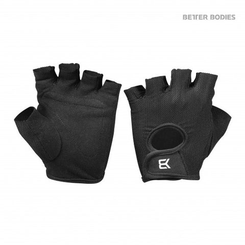Better Bodies - Womens Training Glove Black - Musclehouse.dk