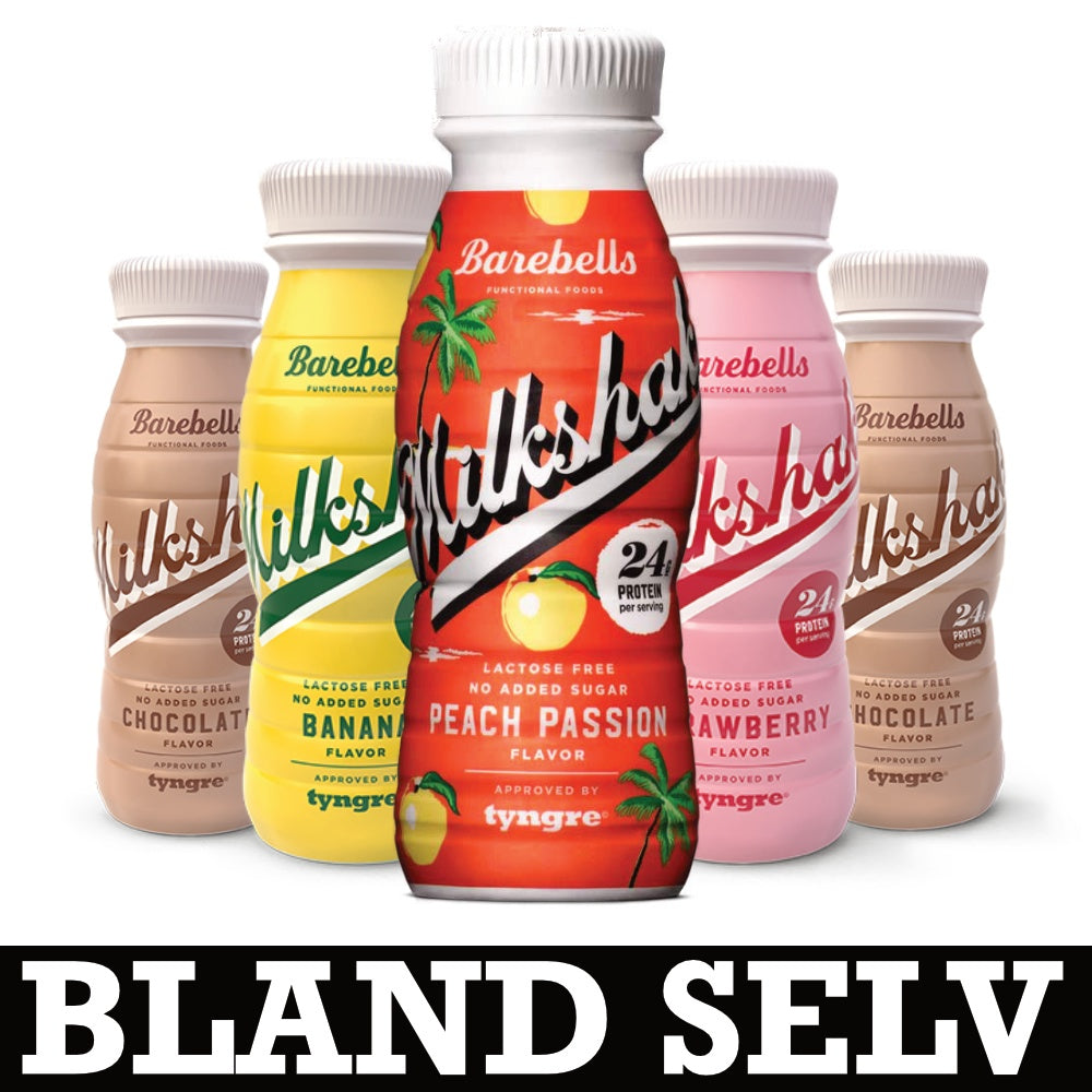 Image of   Barebells Milkshake (3x 330 ml)