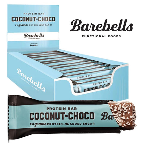 Barebells Protein Bar Coconut-Choco (12x 55g) - Musclehouse.dk
