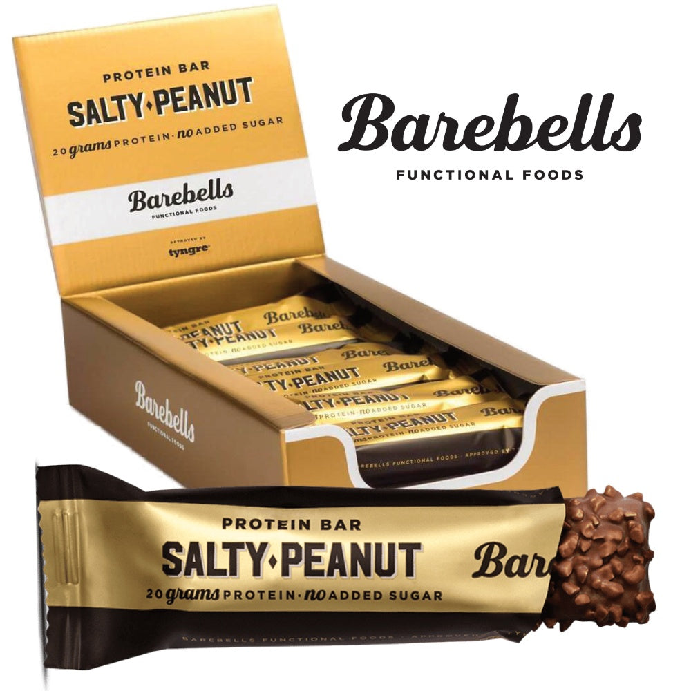 Image of   Barebells Protein Bar Salty Peanut (12x 55g)