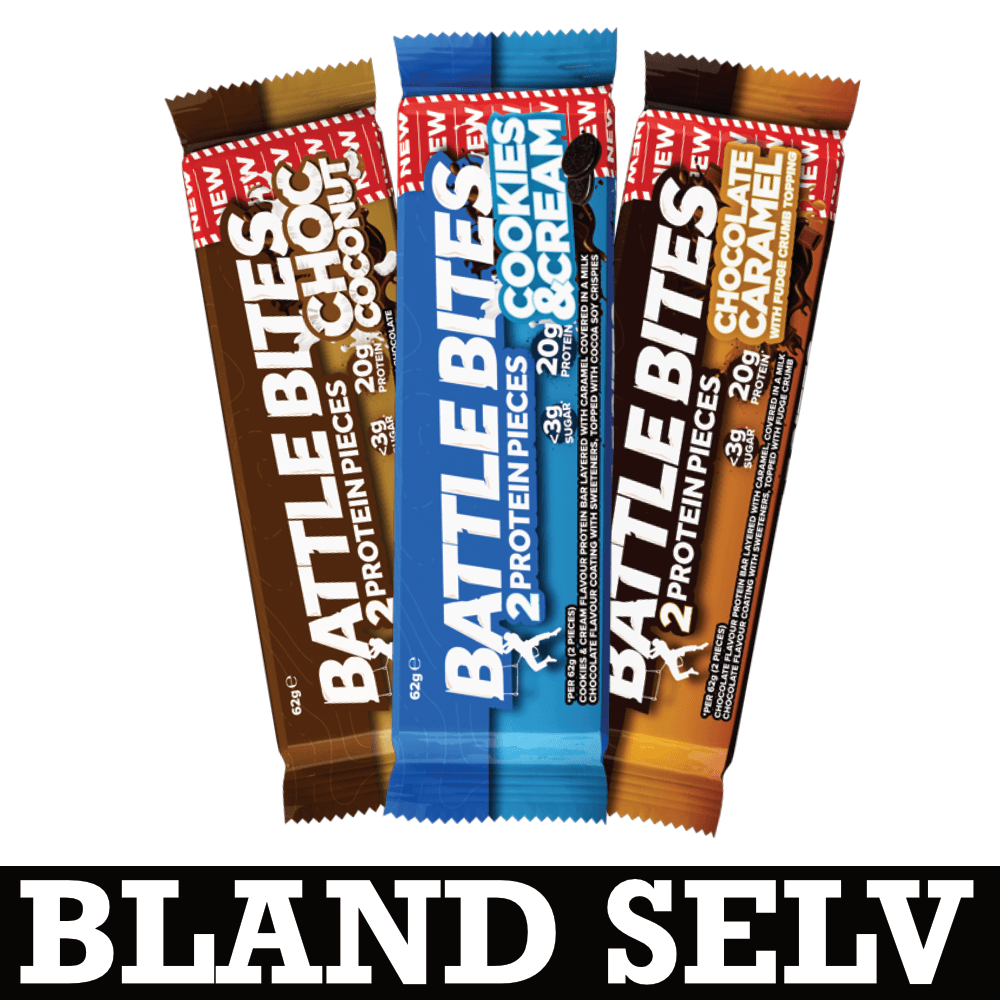 Billede af Battle Oats High Protein Battle Bites (12x62g)