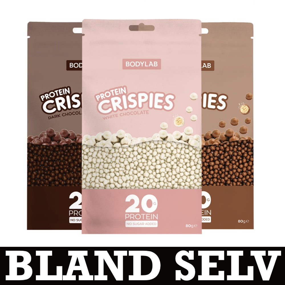 Image of   Bodylab Chocolate Protein Crispies (3x 80g)