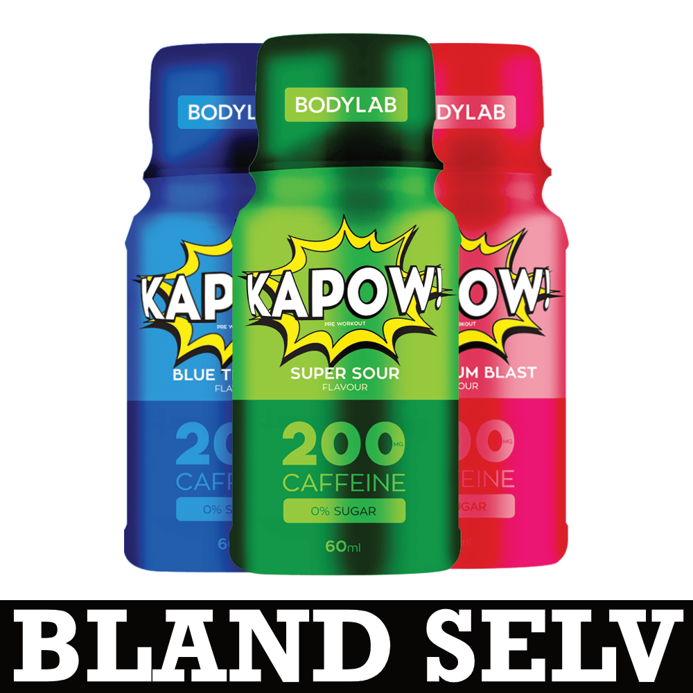 Image of   Bodylab KAPOW Pre-Workout Shots (12x60ml)