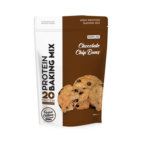 Bodylab Protein Baking Mix - Chocolate Chip Buns (500 g) - Musclehouse.dk