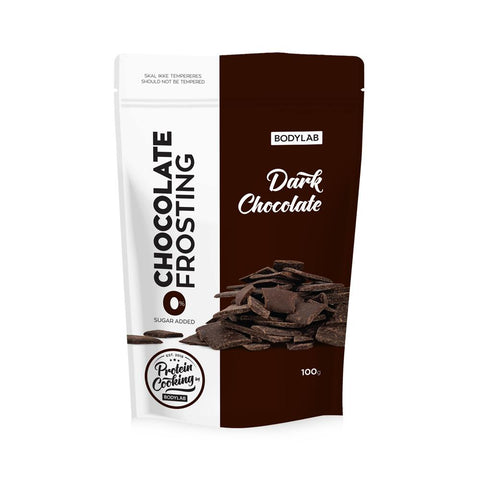 Bodylab Protein Baking Mix - Dark Chocolate Frosting (100 g) - Musclehouse.dk