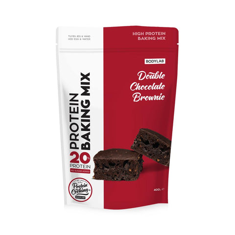 Bodylab Protein Baking Mix - Double Chocolate Brownie (400 g) - Musclehouse.dk