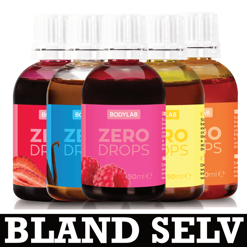 Image of   Bodylab Zero Drops (3x50ml)