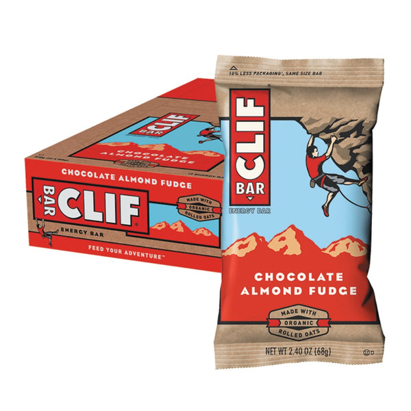 Kosttilskud - Clif Bar - Chocolate Almond Fudge (12x68g)