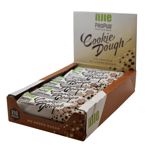 Image of   Njie ProPud Protein Bar - Cookie Dough (12x55g)