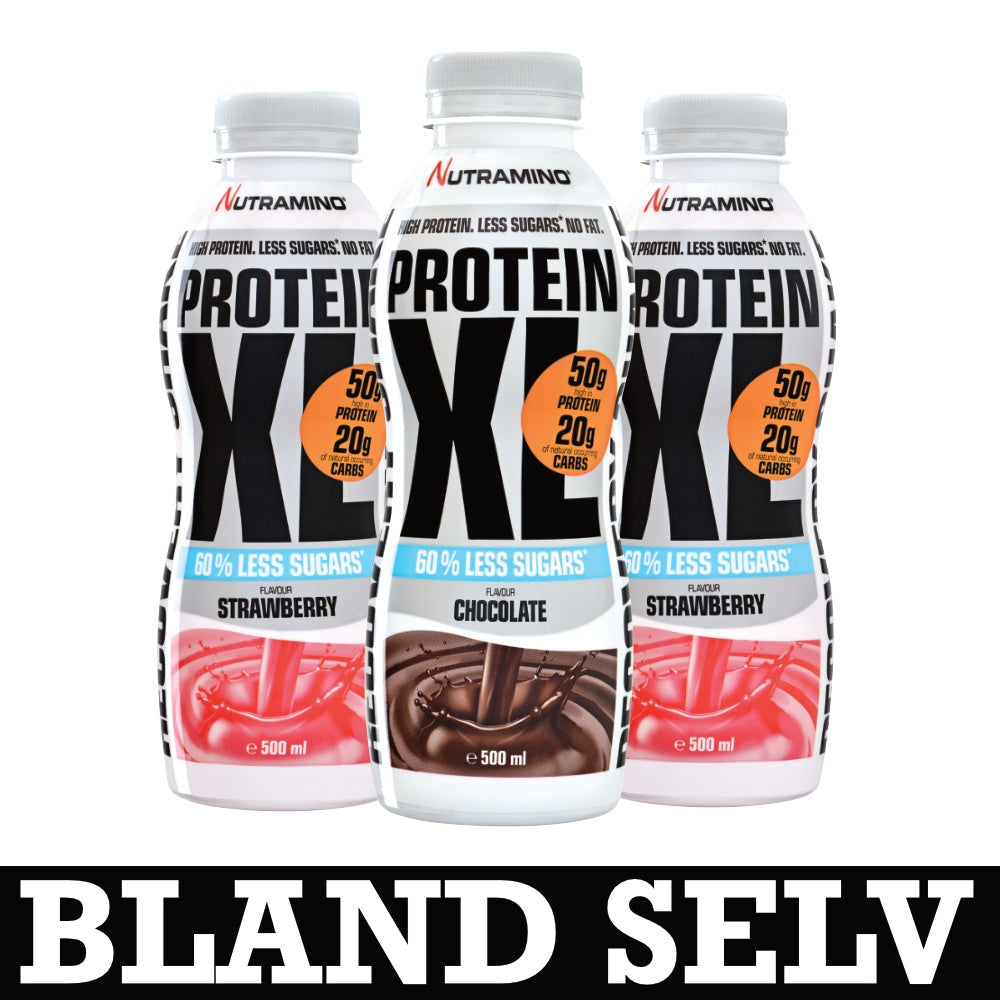 Nutramino XL Less Sugar Protein Shake (6x500ml)