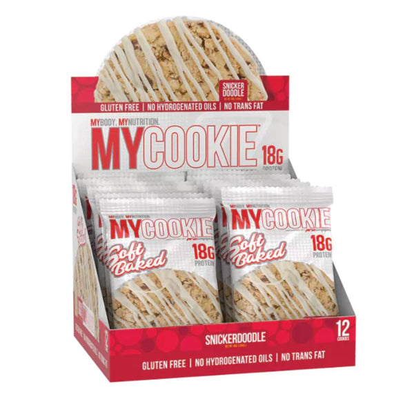 Pro Supps MyCookie - Snickerdoodle (12x80g) - Musclehouse.dk