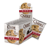 Kosttilskud - Quest Protein Cookie - Chocolate Chip (12x59g)