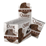 Kosttilskud - Quest Protein Cookie - Double Chocolate Chip (12x59g)