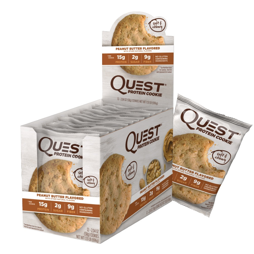 Quest Protein Cookie - Peanut Butter (12x58g)