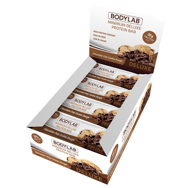 Bodylab Minimum Deluxe Protein Bar - Chocolate Chip Cookie Dough - Musclehouse.dk