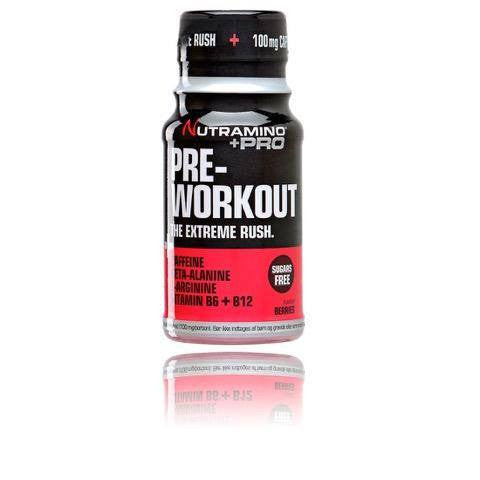 Nutramino Pre-Workout Shot Berries (12 stk.)