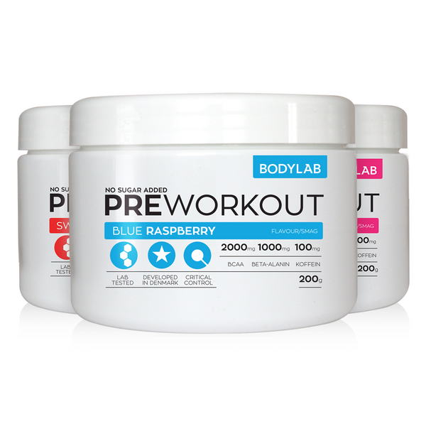 Bodylab Pre Workout (200g) - Musclehouse.dk