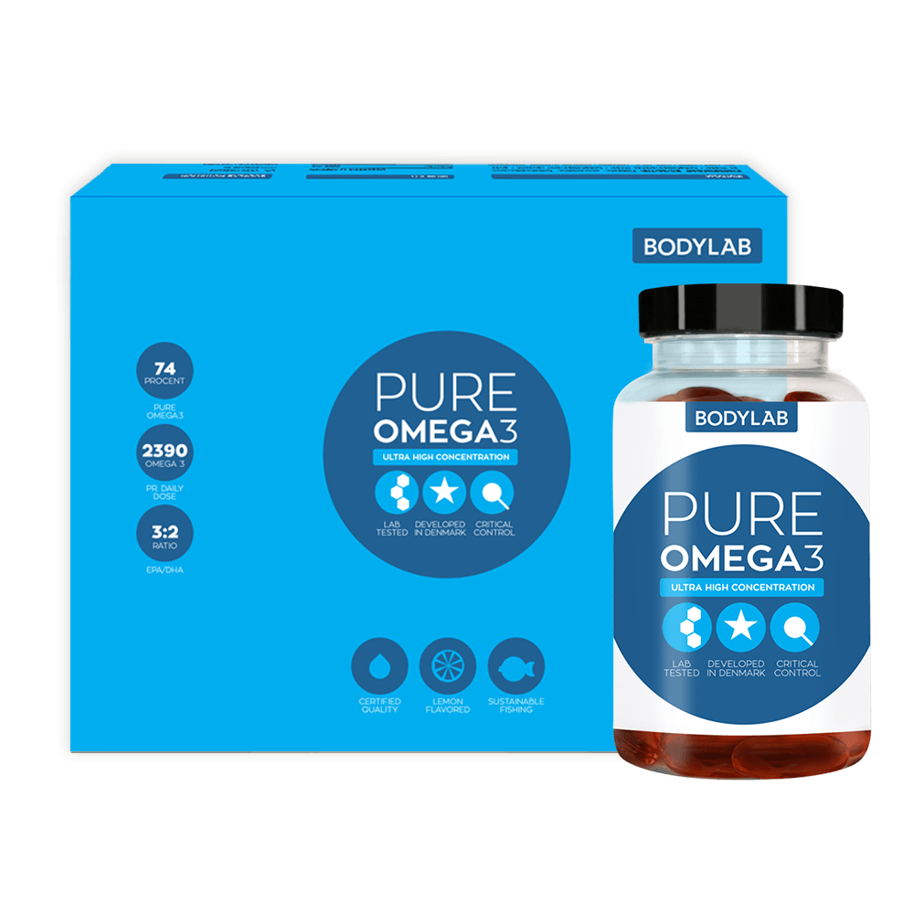 Image of   Bodylab Pure Omega 3 (120 stk)