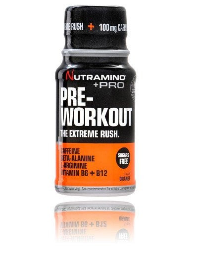 Nutramino Pre-Workout Shot Orange (1 stk.) - Musclehouse.dk