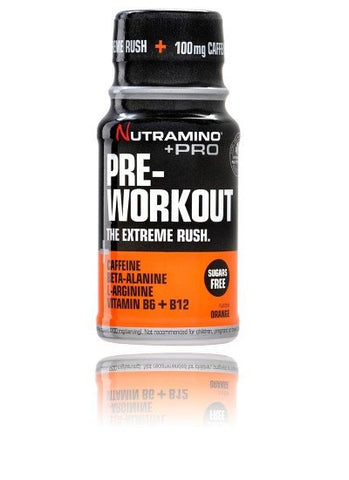 Nutramino Pre-Workout Shot Orange (12 stk.)