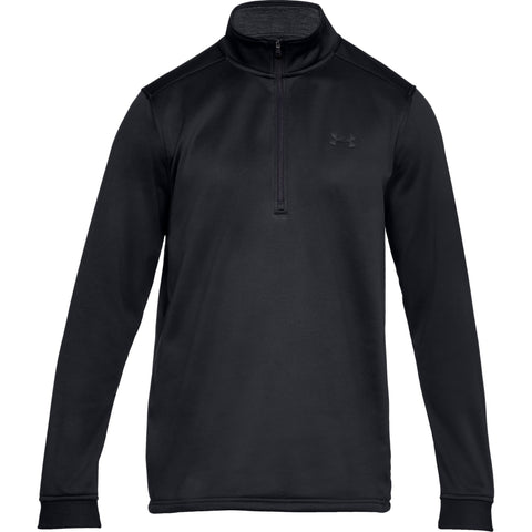 Tøj - Under Armour Armour Fleece 1/2 Zip - Black