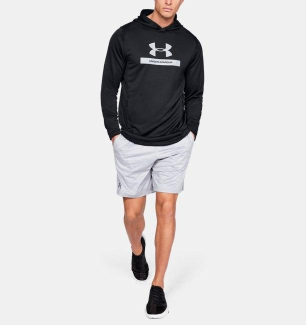Under Armour MK-1 Terry Graphic Hoodie - Black