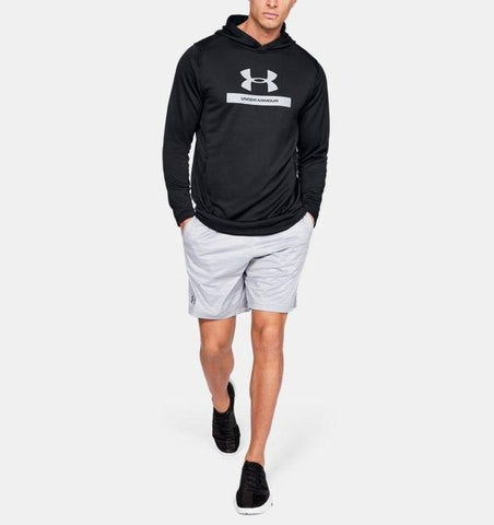 Tøj - Under Armour MK-1 Terry Graphic Hoodie - Black